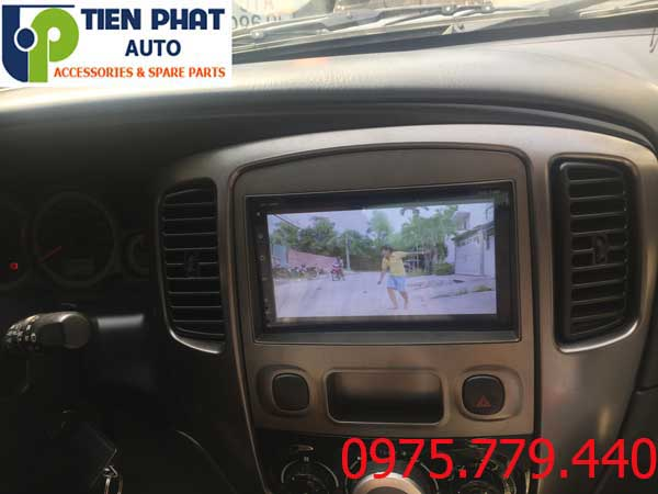lap dat man hinh dvd android cho  ford escape tai tphcm