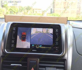 Lắp Đặt Camera 360 Độ Oview Cho Xe Ô Tô Kia Picanto Chuyên Nghiệp Tại TP.HCM