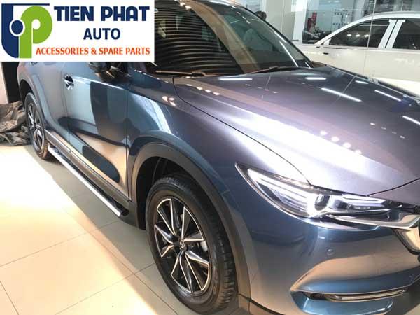 Bệ Bước Chân Lên Xuống Cho Mazda Cx-5 2018 Uy Tín Tại Tp.Hcm