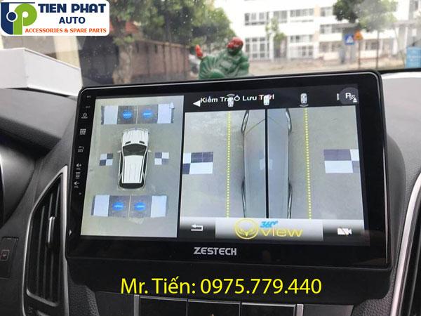 Camera 360 cho xe Hyundai Tucson chính hãng giá tốt tại TPHCM