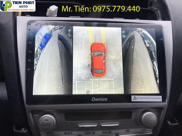 Camera 360 độ chất lượng – chính hãng – uy tín cho Toyota Camry 2008 – 2012 tại TPHCM
