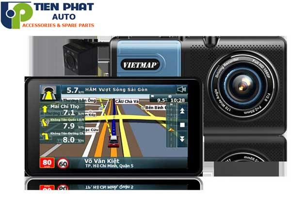 Camera Hành Trình Tích Hợp Dẫn Đường Vietmap A50 Cho Mitsubishi Triton