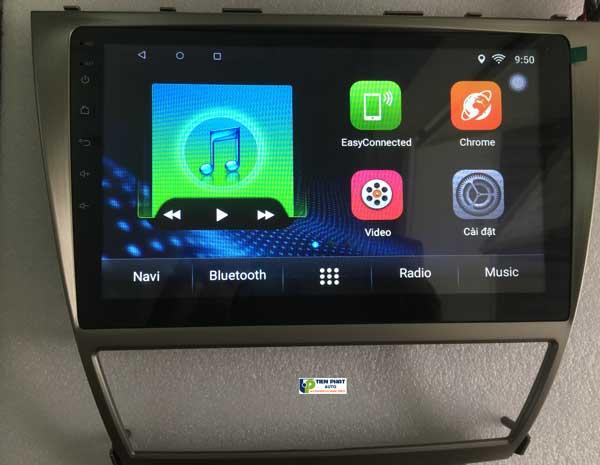 Phân Phối  DVD Tesla 12 Inch  Android Cho Toyota Camry 2008 -2012
