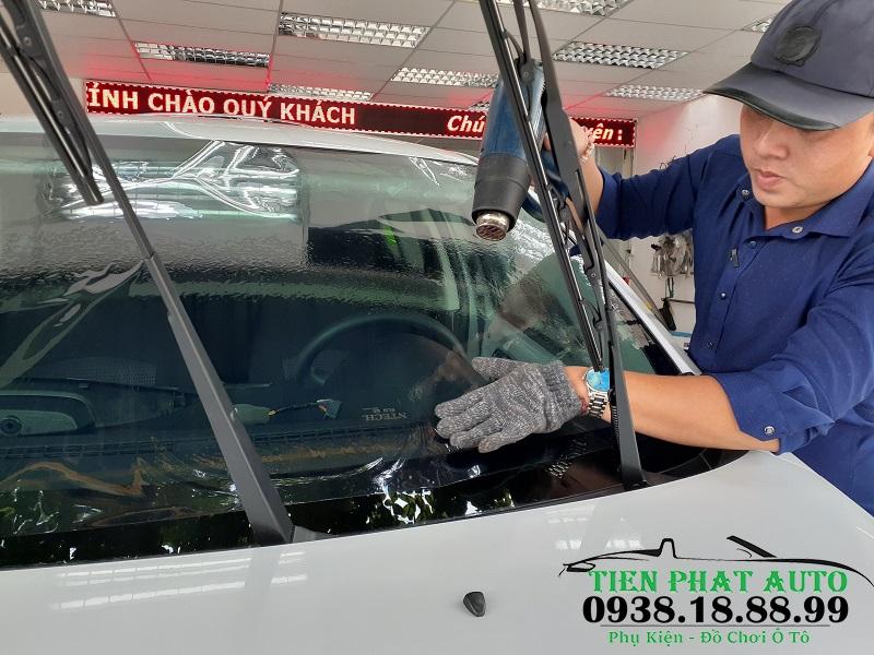 Dán Phim Cách Nhiệt Cao Cấp Cho Xe Mitsubishi Attrage tại Tiến Phát Auto
