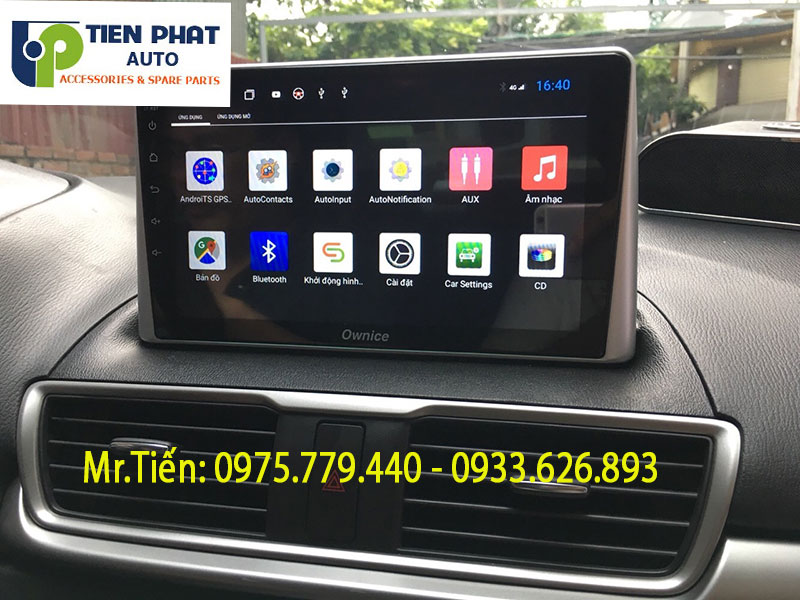Địa Chỉ Lắp Màn Hình Android Cho Xe Mazda 3 Chất Lượng Tốt Nhất TP.HCM