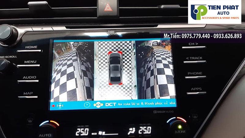 Địa Chỉ Uy Tín Nhất Để Lắp Camera 360 Độ DCT Cho Xe Camry 2015 – 2019 Tại TP.HCM