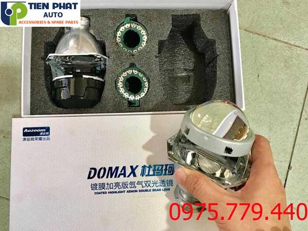 Độ Bi Cầu Domax Xenon Aozoom FBL Tăng Sáng 300% Cho Ford Ranger Bảo Hành 3 Năm