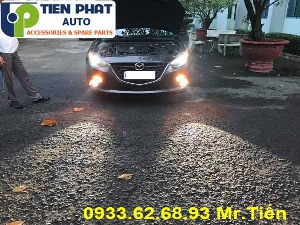 Độ Bi Đèn Gầm Cho Xe Mazda 3 2017 tại TP HCM  Lắp Đặt Tận Nơi