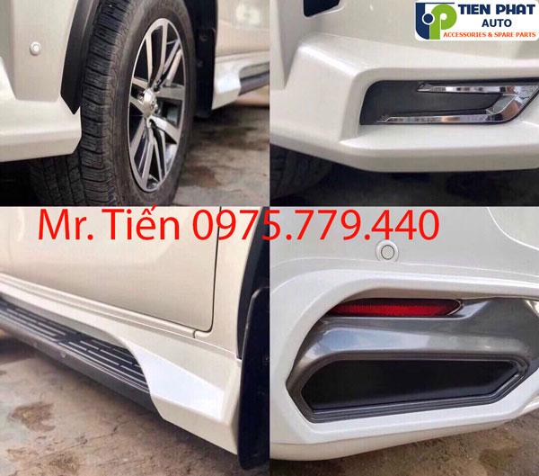 Độ Body Kit Kiểu Lexus Cho Fortuner 2018-2019