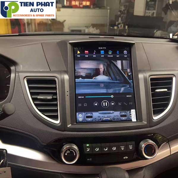 DVD Tesla Cao Cấp theo Xe Honda Crv Uy 2014-2017 Tại Tphcm