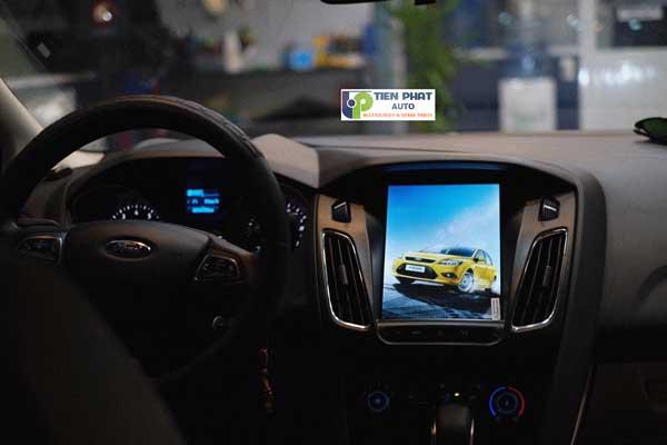 DVD Theo Xe Mẫu Tesla Cho Ford  Focus Đời 2013-2017 Tại Tp.Hcm