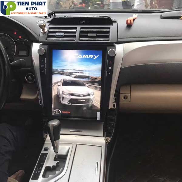 DVD Theo Xe Tesla Cho Toyota Camry 2012-2016 Uy Tín Nhanh
