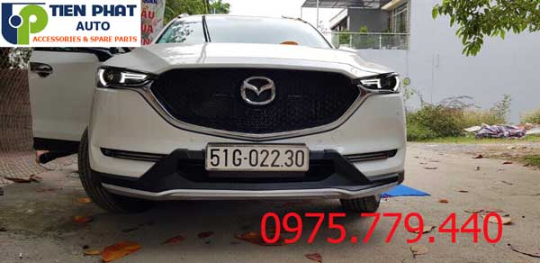 Lắp Ốp Cản Trước Sau Cho Mazda Cx-5 2018 Uy Tín Tại Tiến Phát Auto