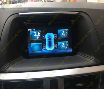 Lắp Cảm Biến Áp Suất Lốp Cho Toyota Camry Tại Tp.Hcm