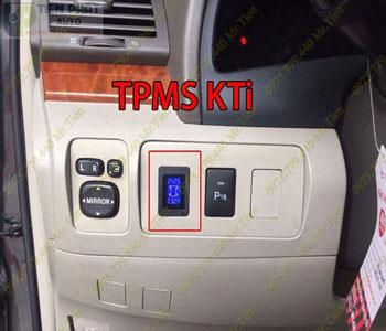 Lắp Cảm Biến Áp Suất Lốp Cho Toyota Land Cruiser Tại Tp.Hcm
