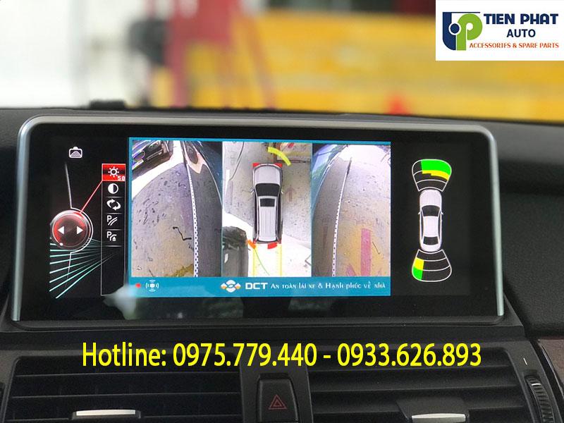 Lắp Camera 360 Độ DCT Cho Xe BMW X6 Tại Quận Tân Bình