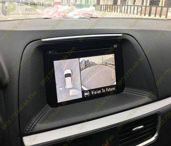 Lắp Đặt Camera 360 Độ Oview Cho Xe Ô Tô Kia Rio Chuyên Nghiệp Tại TP.HCM