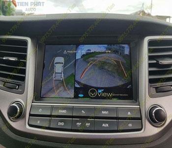 Lắp Đặt Camera 360 Độ Oview Cho Xe Ô Tô Nissan Navara Chuyên Nghiệp Tại TP.HCM