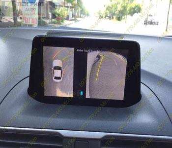 Lắp Đặt Camera 360 Độ Oview Cho Xe Ô Tô Toyota Camry Chuyên Nghiệp Tại TP.HCM