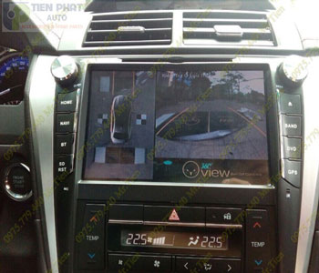 Lắp Đặt Camera 360 Độ Oview Cho Xe Ô Tô Toyota Fortuner Chuyên Nghiệp Tại TP.HCM