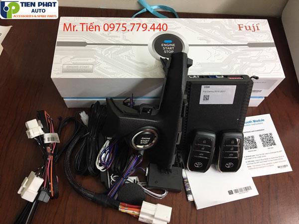 Lắp Start Stop Smart Key Cho Toyota Camry 2012 - 2015 uy tín – chính hãng tại TPHCM