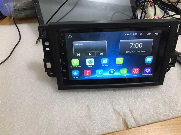 Màn Hình DVD Chạy Android Cho Chevrolet Aveo 2012-2014