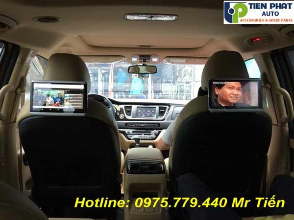 Màn Hình Gối Đầu Cho Dòng Xe Toyota Tại Tp.HCM
