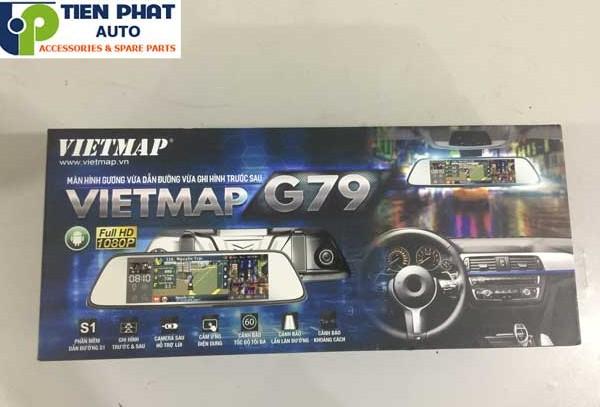 Vietmap G79 Dẫn Đường Tích Hợp Ghi Hình 5 Trong 1 Cho Mitsubishi Attrage