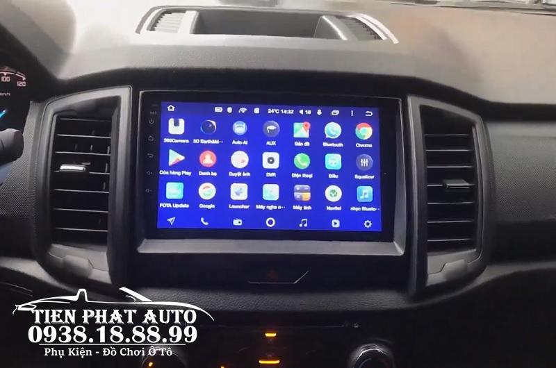 Màn hình DVD Android Teyes Giá Tốt Cho Ford Ranger