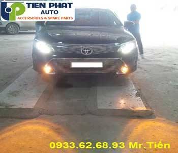 Độ Bi Đèn Gầm Cho Xe Toyota Yaris 2017 tại Huyện Hóc Môn Lắp Đặt Tận Nơi