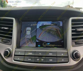 Lắp Đặt Camera 360 Độ Oview Cho Xe Ô Tô Huyndai Elantra Chuyên Nghiệp Tại TP.HCM