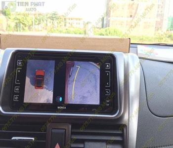 Lắp Đặt Camera 360 Độ Oview Cho Xe Ô Tô Mitsubishi Pajrero Sport Chuyên Nghiệp Tại TP.HCM