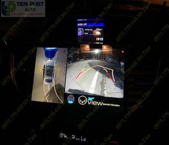 Lắp Đặt Camera 360 Độ Oview Cho Xe Ô Tô Mitsubishi Triton Chuyên Nghiệp Tại TP.HCM