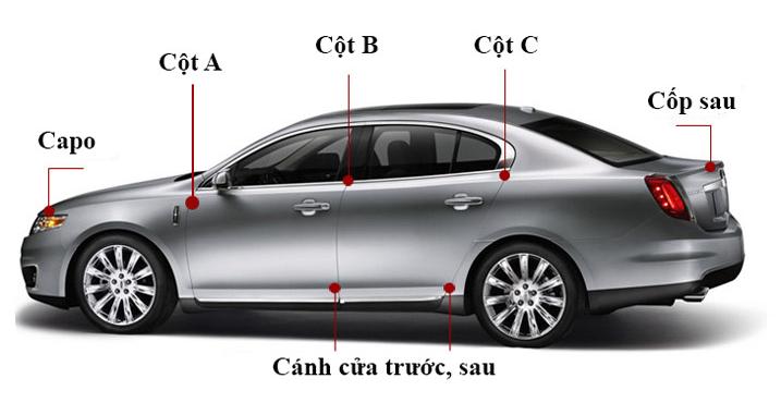 Báo giá dán gioăng cao su chống ồn ô tô tại Auto Tiến Phát