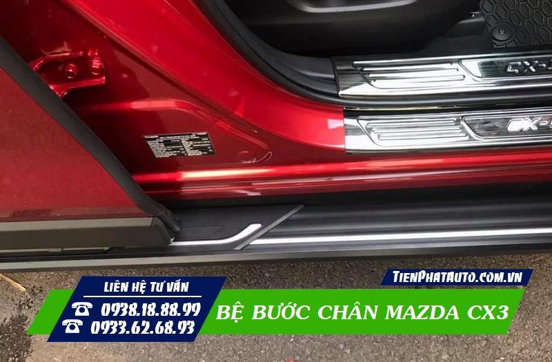 Bệ Bước Chân Xe Mazda CX3