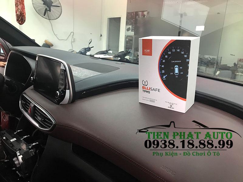 Cảm Biến Áp Suất Lốp Ellisafe i31 Theo Xe Hyundai Santafe 2019