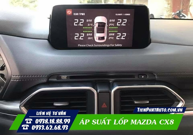 Cảm Biến Áp Suất Lốp Mazda CX8
