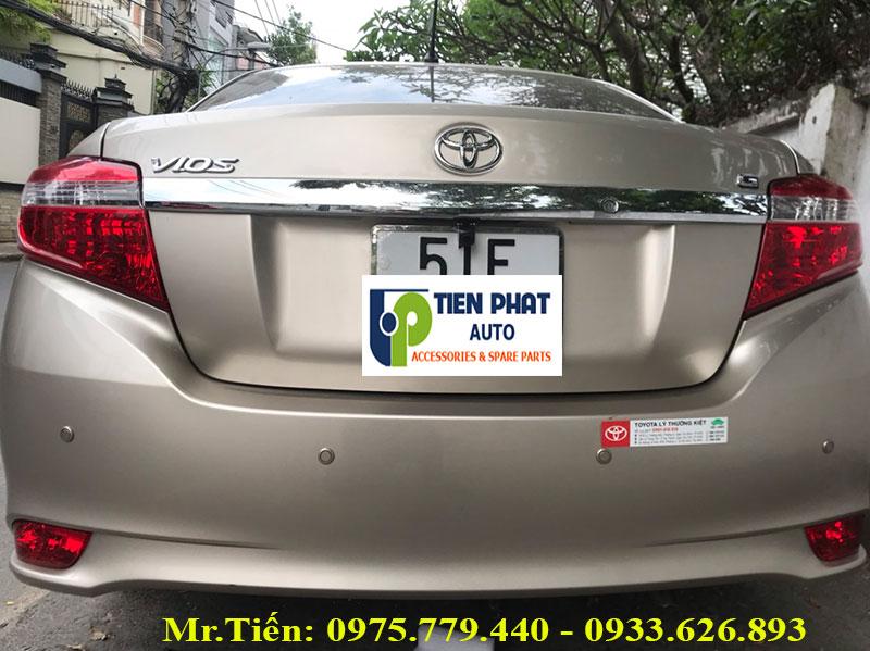 Cảm Biến Lùi 4 Mắt Cho Xe Ô Tô Toyota Vios