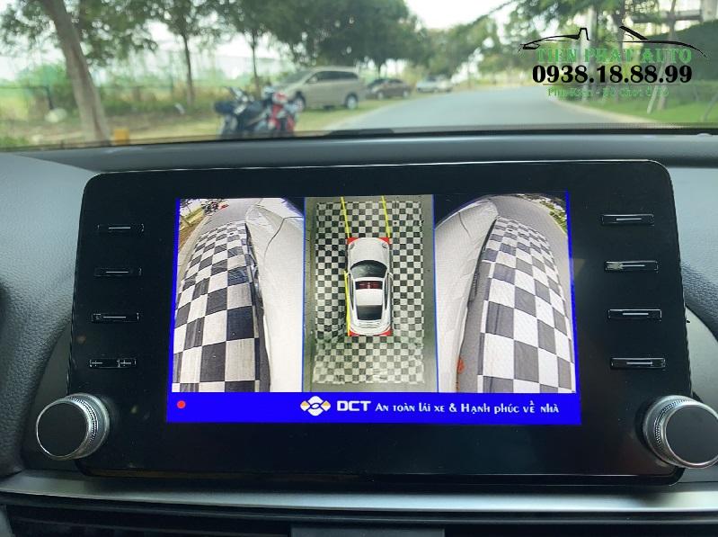 Camera 360 DCT Bản T1 Cho Xe Honda Accord