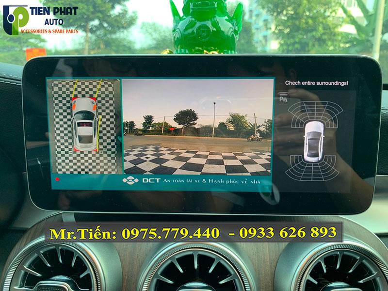 Camera 360 DCT Bản T3 Cho Xe Mercedes C200