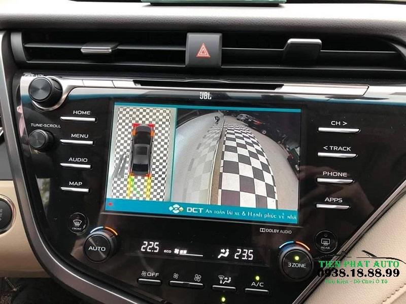 Camera 360 DCT Cho Xe BAIC BJ40