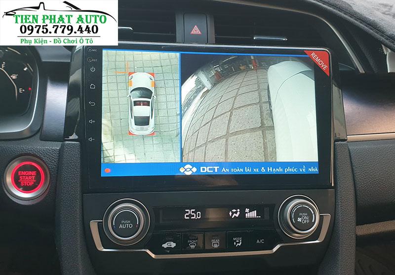 Lắp Camera 360 DCT Cho Honda Civic Tại TPHCM