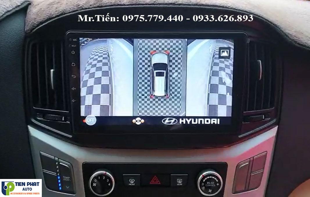Camera 360 DCT Bản T3 Cho Hyundai Starex