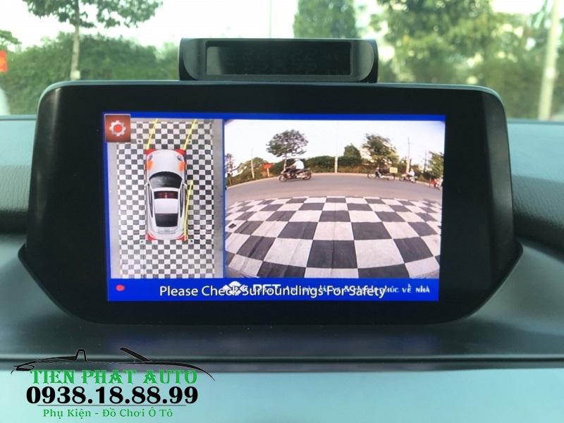 Camera 360 DCT Cho Mazda 6 2020 Bản T1