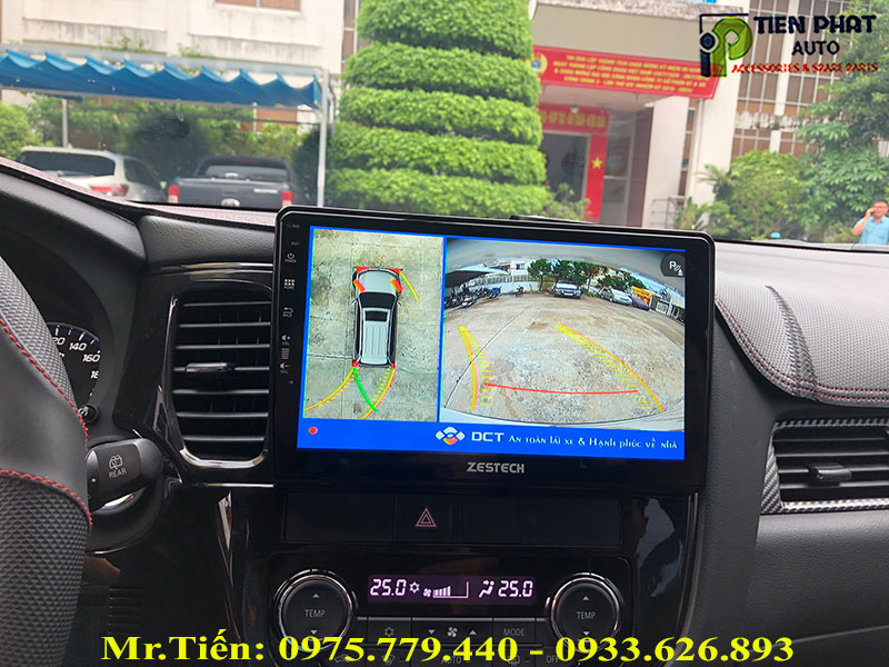 Camera 360 DCT Cho Mitsubishi Outlander 2019
