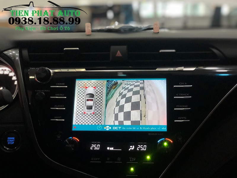 Camera 360 DCT Cho Xe Camry 2020