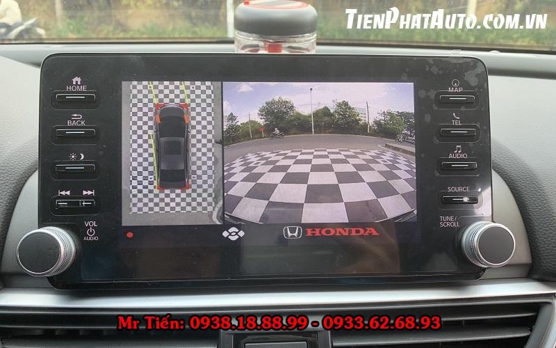 Camera 360 DCT Cho Xe Honda Accord 2021
