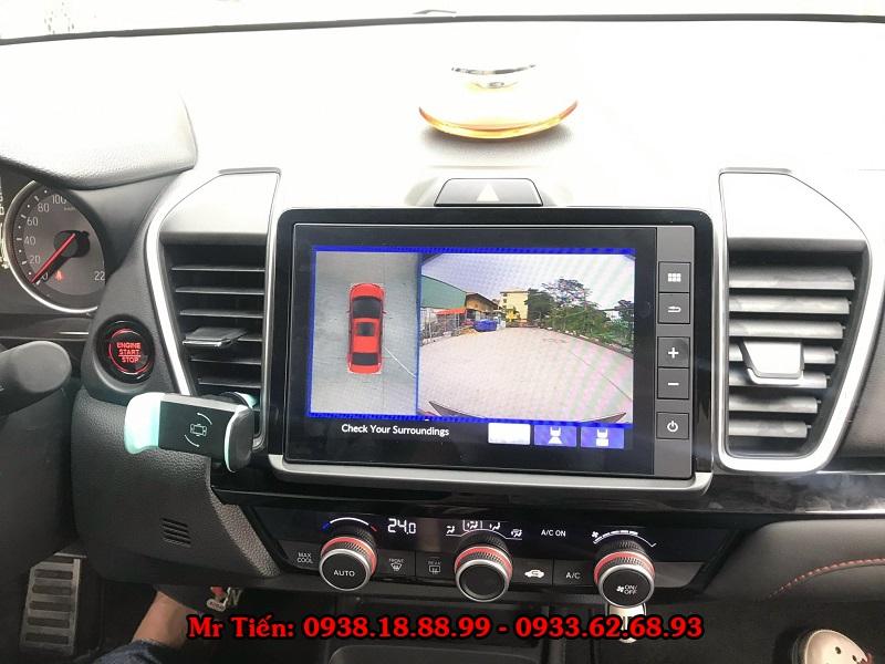 Camera 360 DCT Cho Xe Honda City 2021