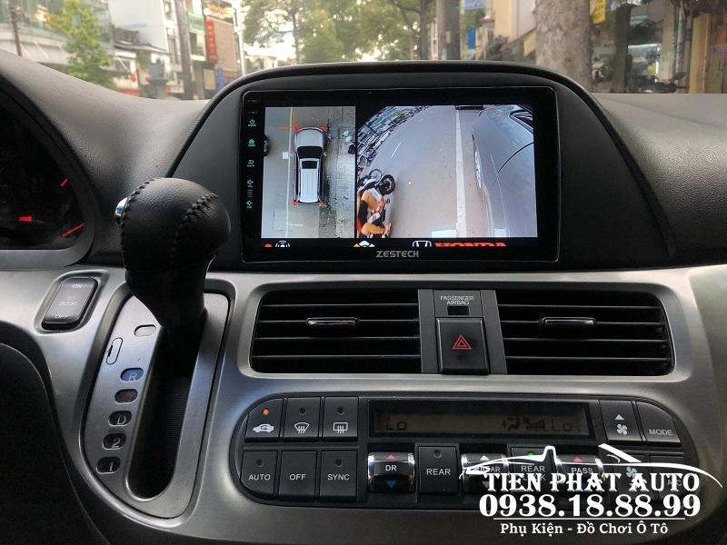 Camera 360 DCT Cho Xe Honda Odyssey