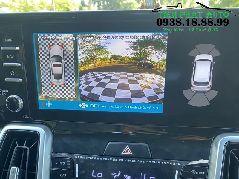 Camera 360 DCT Cho Xe Kia Sorento 2021